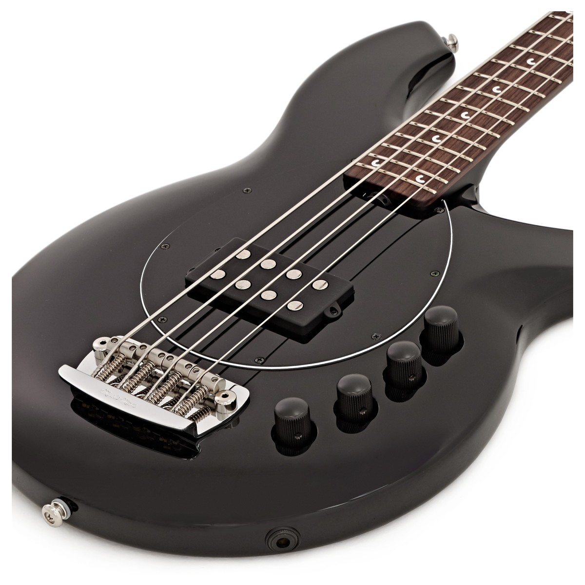 Music Man Bongo 4 H Bass Stealth Black Gear4music