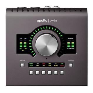 Universal Audio Apollo Twin Quad MkII, Thunderbolt - Front