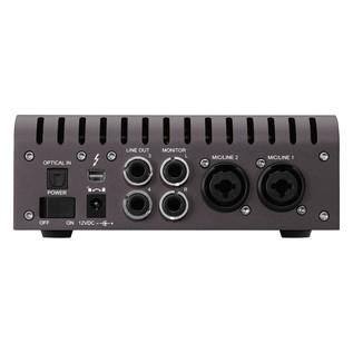 Universal Audio Apollo Twin Quad MkII, Thunderbolt - Back