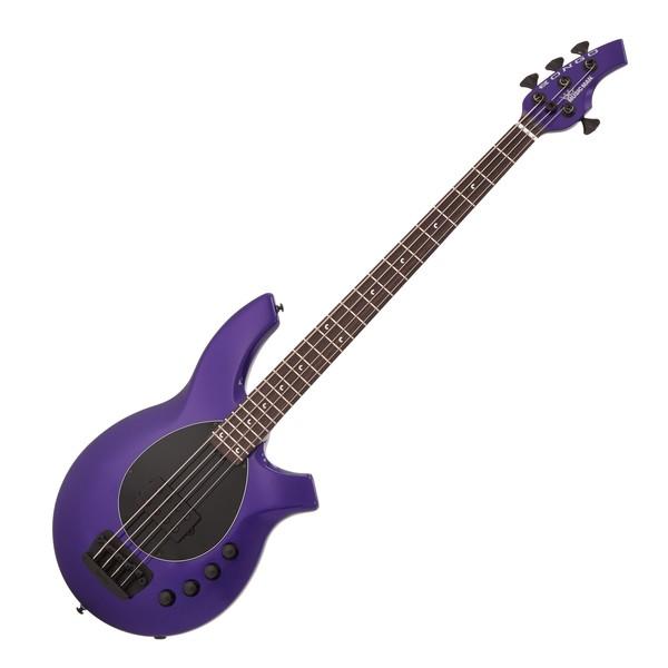 Music Man Bongo 4 H Bass, Firemist Purple