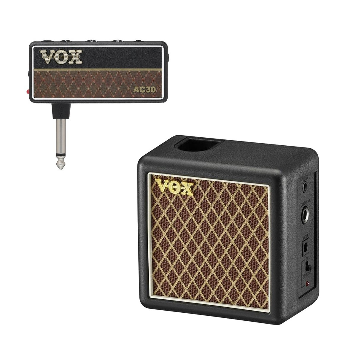 vox amplug 2 ac30 guitar headphone amp bundle at gear4music. Black Bedroom Furniture Sets. Home Design Ideas