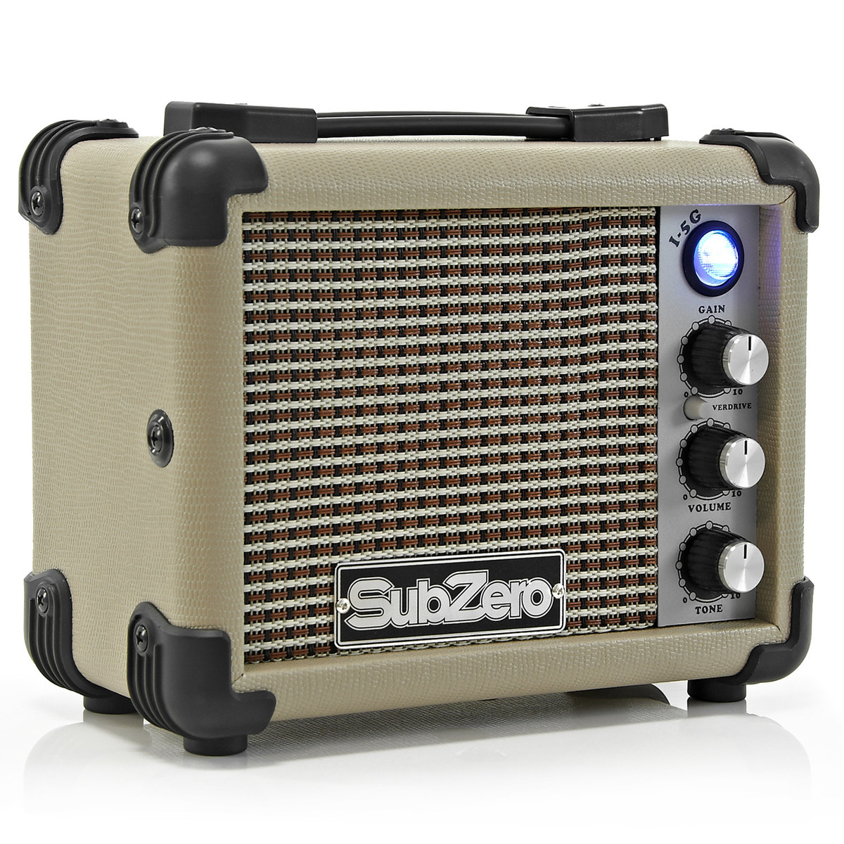 subzero micro electric guitar amp vintage cream b stock at gear4music. Black Bedroom Furniture Sets. Home Design Ideas