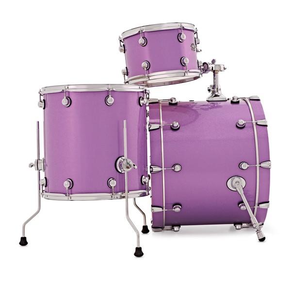 Natal Arcadia 5pc 22'' Shell Pack, Purple Sparkle