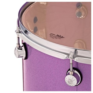 Natal Arcadia 5pc 22'' Shell Pack, Purple Sparkle