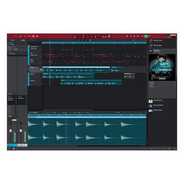 Akai MPC Live - Software Arrangement