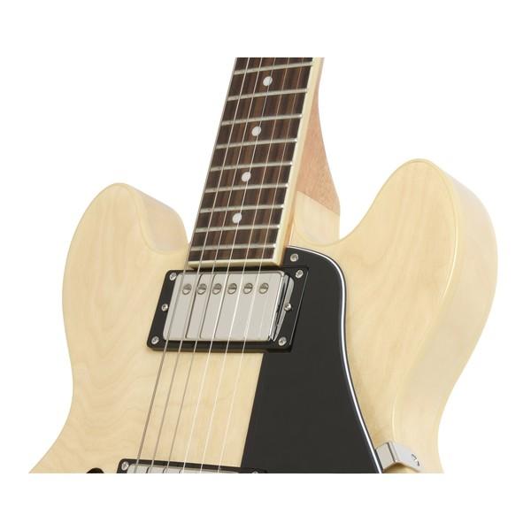 Epiphone ES-339 Pro Guitar Nickel HW, Natural Close Top