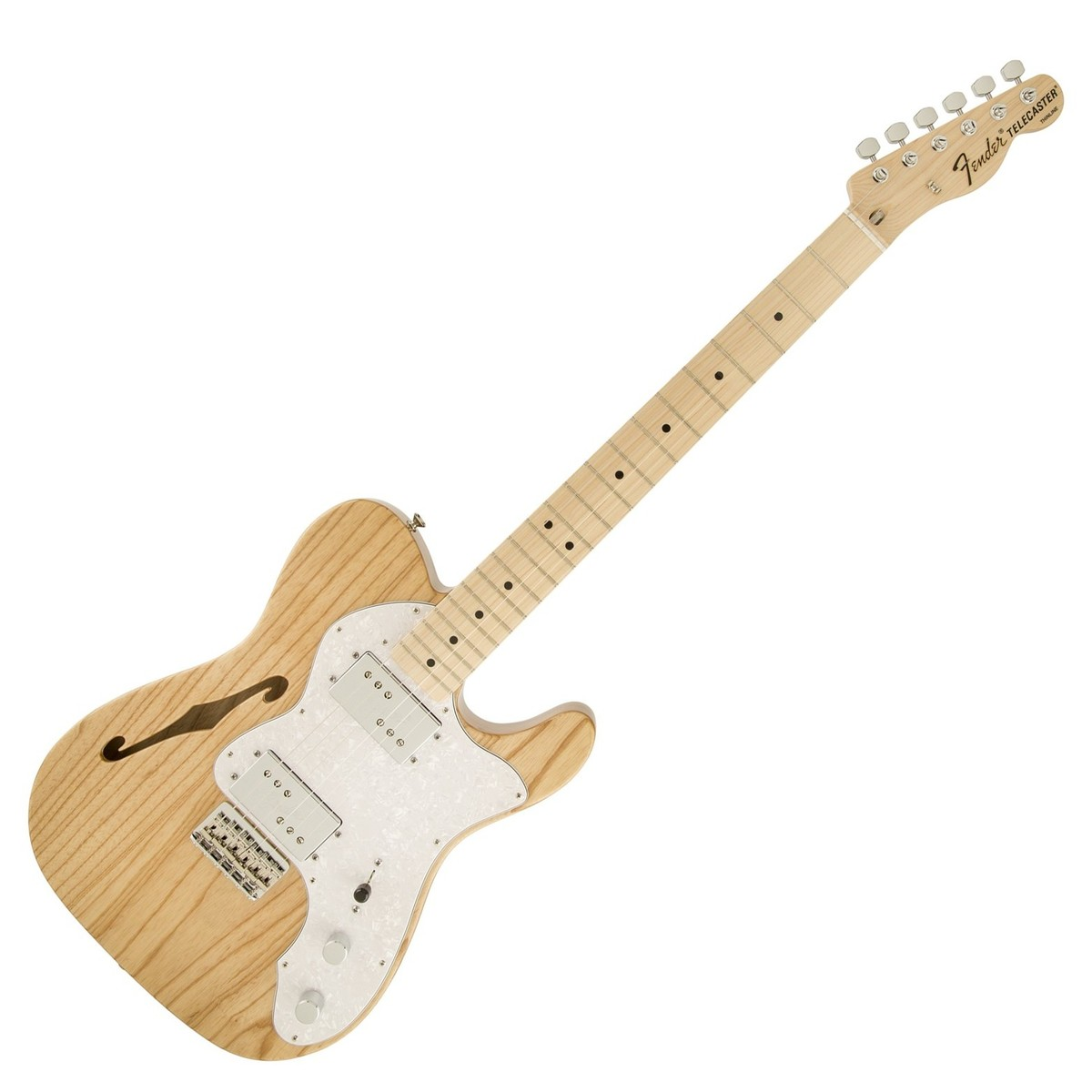 fender classic series 39 72 telecaster thinline mn natural at gear4music. Black Bedroom Furniture Sets. Home Design Ideas