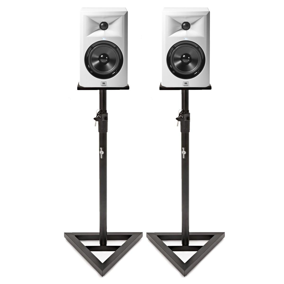 jbl lsr305 enceintes de monitoring blanches paire avec. Black Bedroom Furniture Sets. Home Design Ideas
