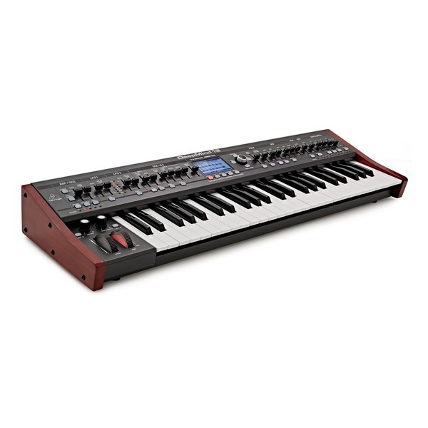 Behringer DeepMind 12 Synthesizer - Angle
