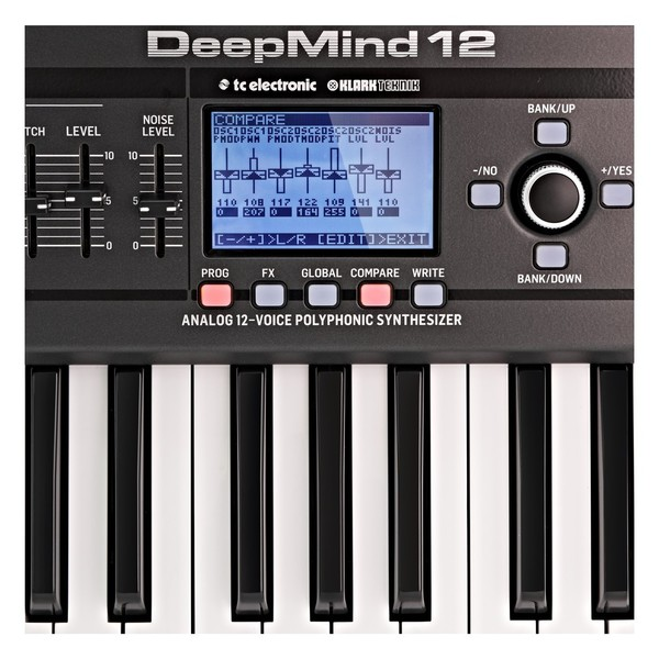 Behringer DeepMind 12 Synthesizer - Close Up 2