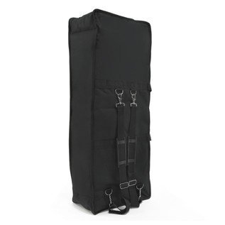 61 Key Keyboard Bag with Straps by Gear4music - Rear Standing
