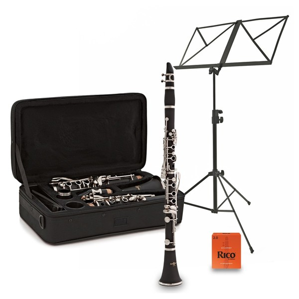 Student Clarinet Complete Beginner Pack by Gear4music