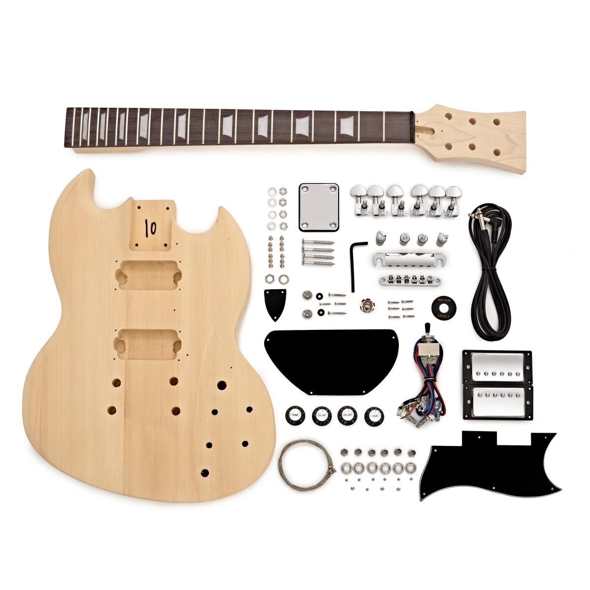 brooklyn electric guitar diy kit b stock at gear4music. Black Bedroom Furniture Sets. Home Design Ideas