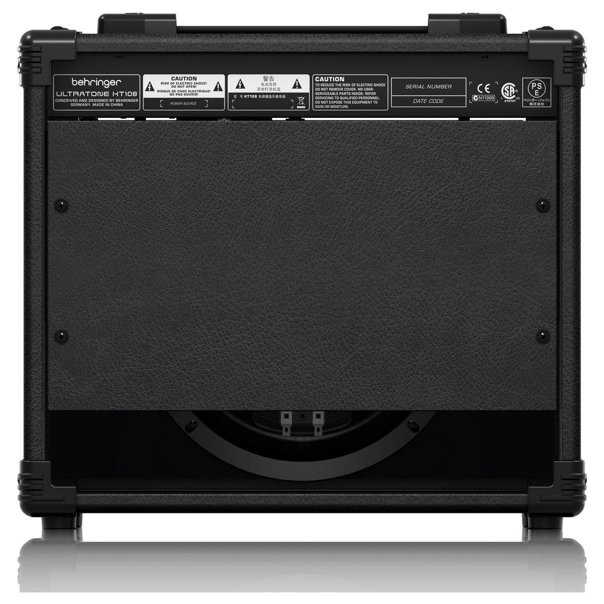 behringer kt108 ultra compact 15 watt keyboard amp b stock at gear4music. Black Bedroom Furniture Sets. Home Design Ideas