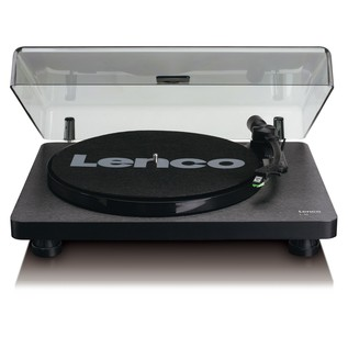 Lenco L-30 Turntable, Black - Front