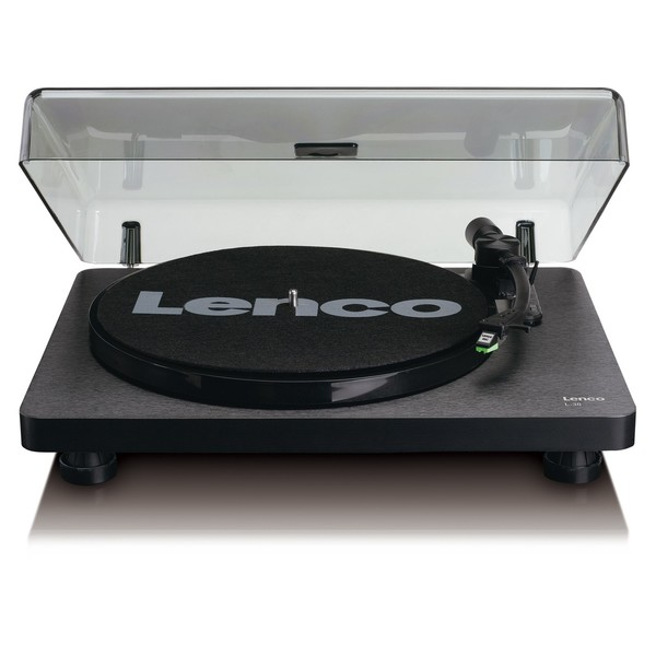 Lenco L-30 Turntable, Black - Front