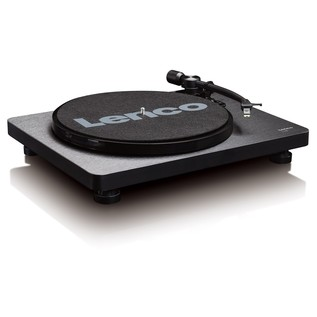 Lenco L-30 Turntable - Angled (No Cover)