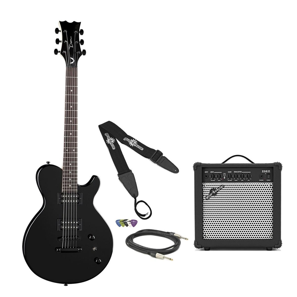 dean evo xm guitar pack classic black at gear4music. Black Bedroom Furniture Sets. Home Design Ideas