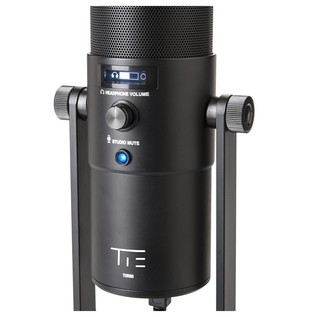 TIE Studio Supernova Condenser Microphone - Rear Detail