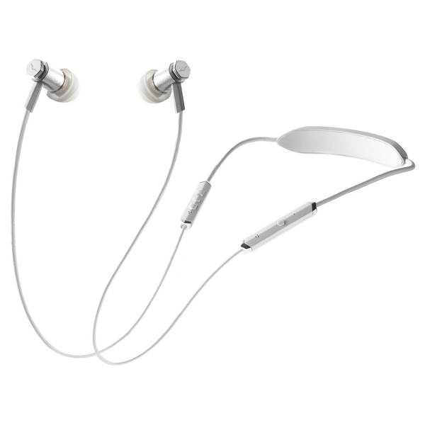 V-Moda Forza Metallo Wireless, White Silver - Main