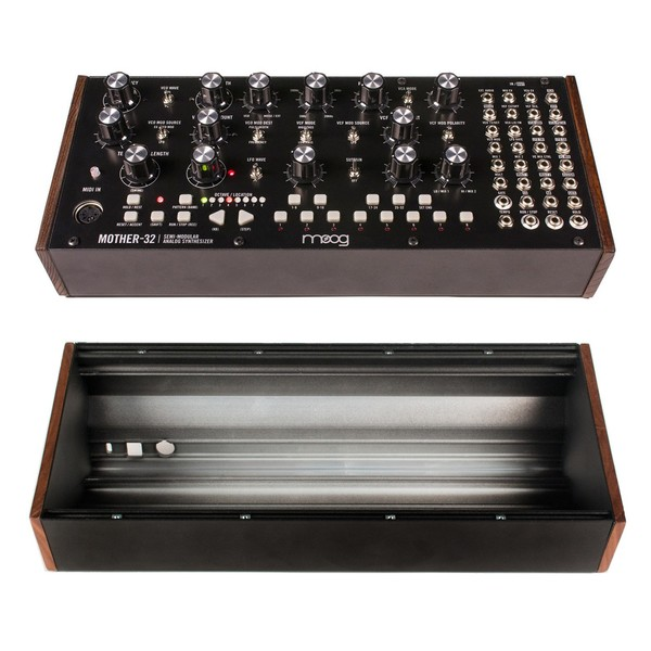 Moog Mother-32 Analog Modular Synthesizer With Moog Single Rack Case - Main