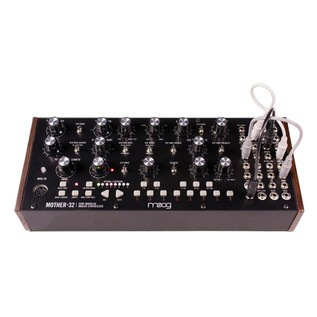 Moog Mother-32 Analog Modular Synthesizer  - Front with Cables