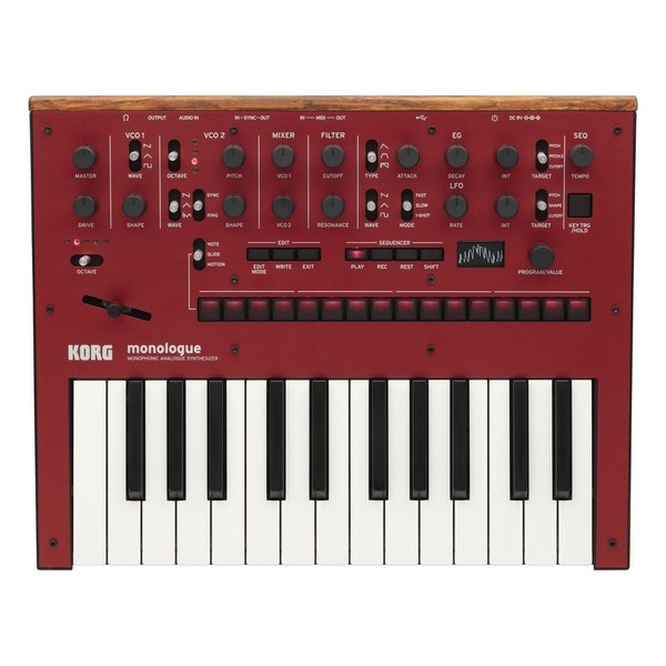 Korg Monologue Synthesizer - Top