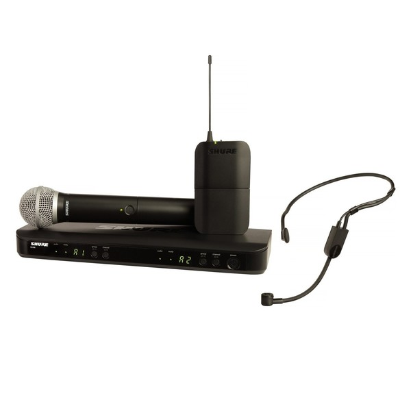 Shure BLX1288E/P31-S8 Dual Wireless System with PG58 and PGA31 1