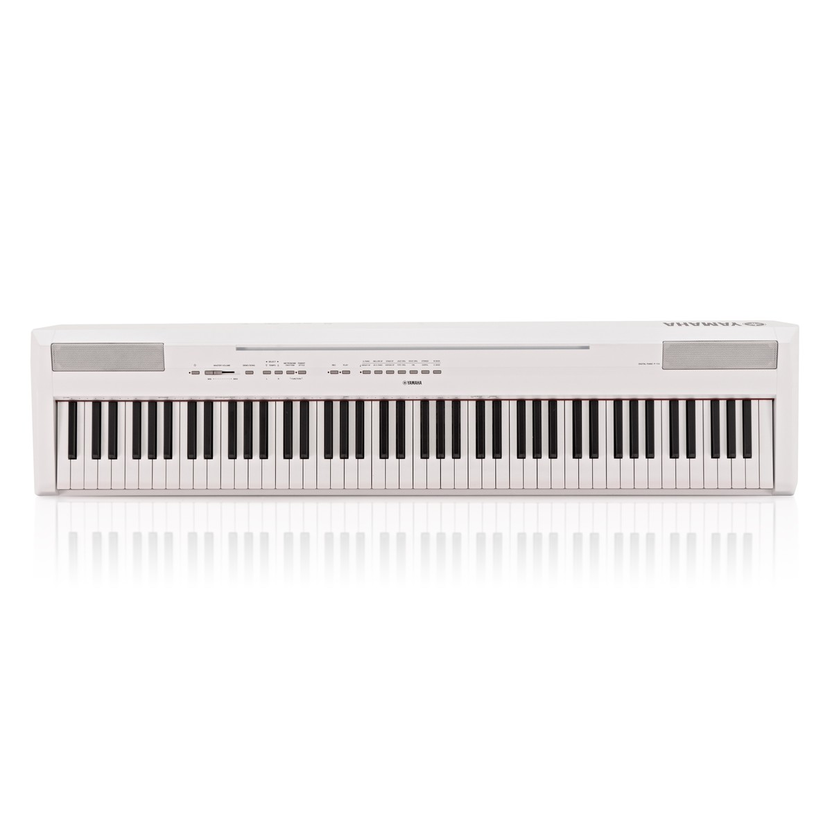 Yamaha p115 digital piano white at for White yamaha piano