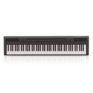 Yamaha P115 Digital Piano, Black