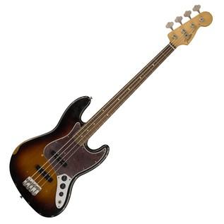 Fender Road Worn 60s Jazz Bass, Pau Ferro, 3 Colour Sunburst