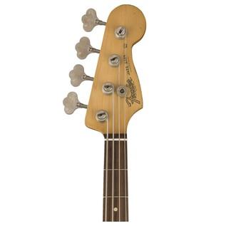 Fender Road Worn 60s Jazz Bass, Pau Ferro, 3 Colour Sunburst front headstock