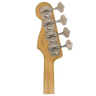 Fender Road Worn 60s Jazz Bass, Pau Ferro, 3 Colour Sunburst headstock rear