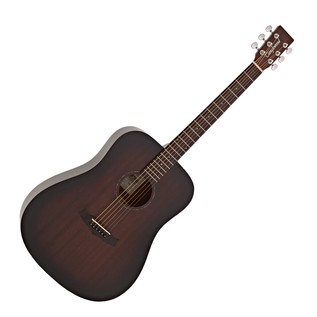 Tanglewood TWCR D Crossroads Dreadnought Acoustic, Whiskey Burst