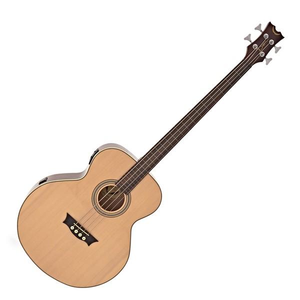 Dean EAB Fretless Electro Acoustic Bass, Gloss Natural