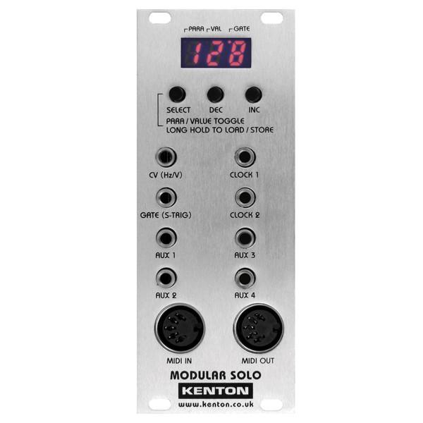 Modular-Solo Eurorack MIDI to CV Converter - Main