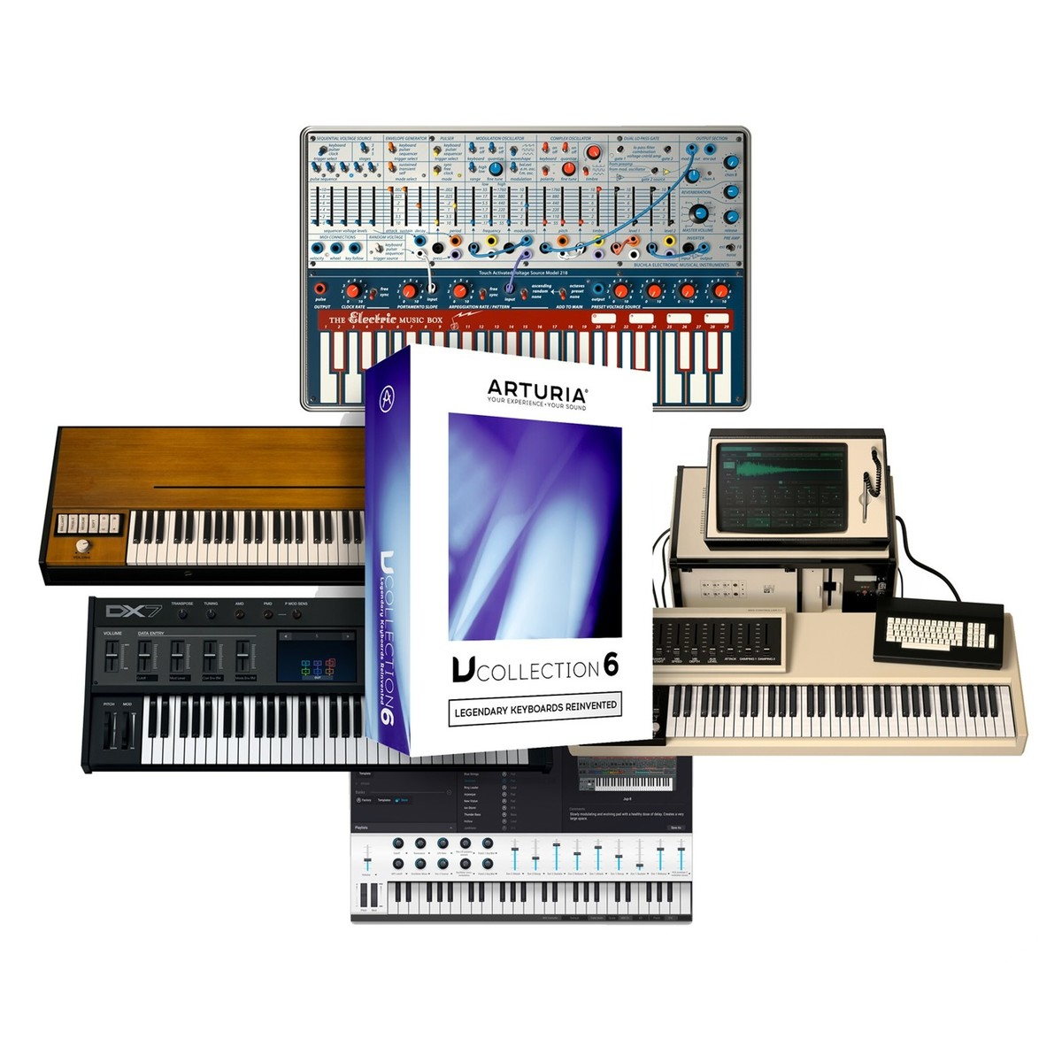arturia v collection 6 boxed at gear4music. Black Bedroom Furniture Sets. Home Design Ideas