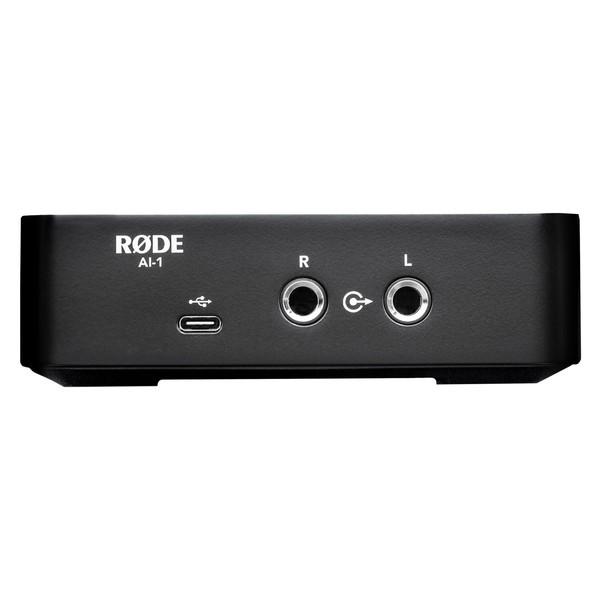 Rode AI-1 Audio Interface - Rear