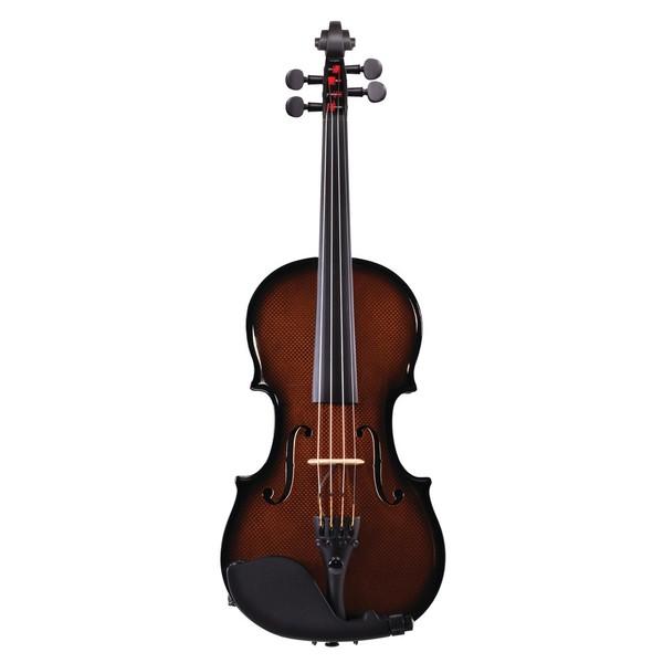 Glasser Carbon Composite Violin - Orange, Front