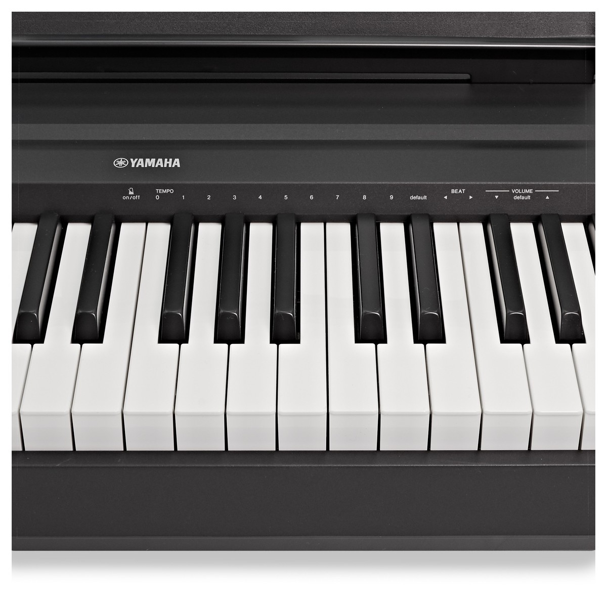 yamaha p45 digital piano black at