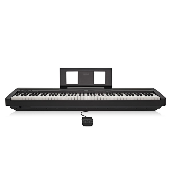 yamaha p45 digital piano black at gear4music. Black Bedroom Furniture Sets. Home Design Ideas