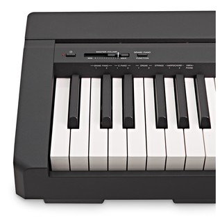 yamaha p45 digital piano black at. Black Bedroom Furniture Sets. Home Design Ideas