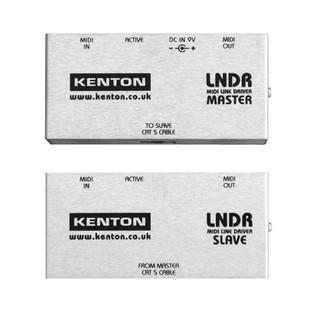 Kenton MIDI Line Driver - Master and Slave Pair (Front)