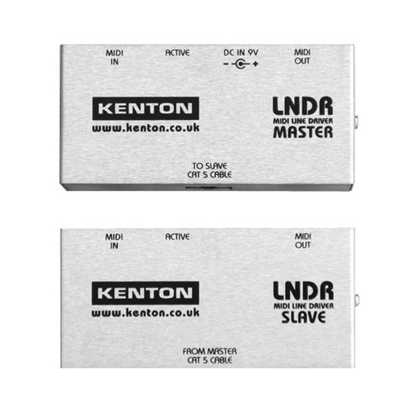 Kenton MIDI Line Driver - Master and Slave Pair (Front)