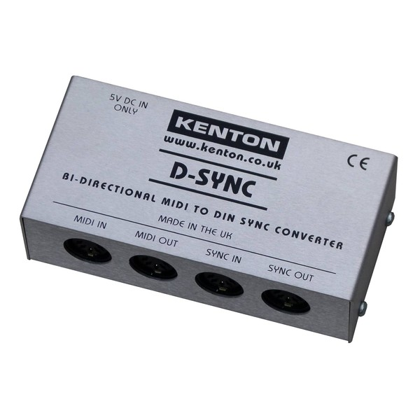 Kenton MIDI to DIN Sync Converter Bidirectional - Main