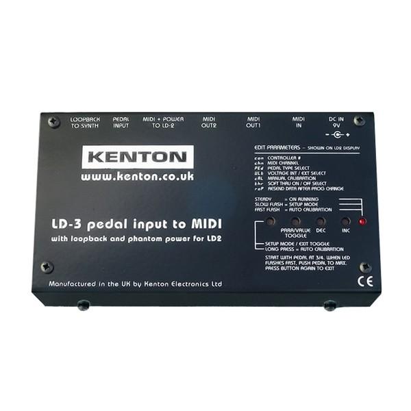 Kenton LD3 PRO Programmable Pedal to MIDI Converter - Main