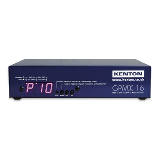 Kenton GPMX16 GPI To MIDI Bi-directional Converter (Main)