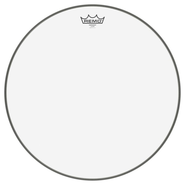 Remo Emperor Clear 18'' Bass Drum Head