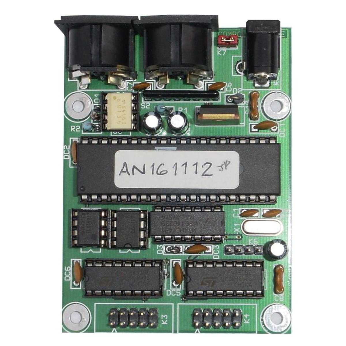 kenton an16 16 analogue input to midi module board gear4music