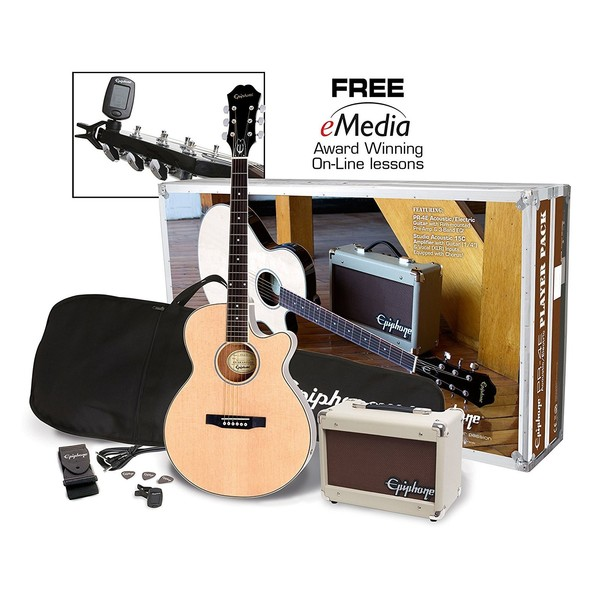 Epiphone PR-4E Electro Acoustic Player Pack